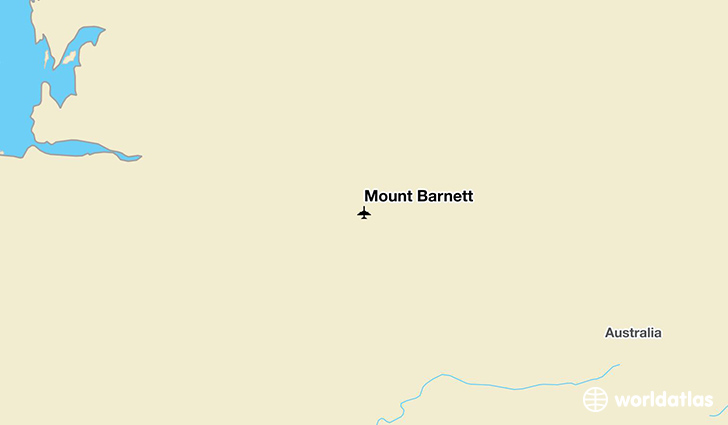 Mount Barnett location on a map