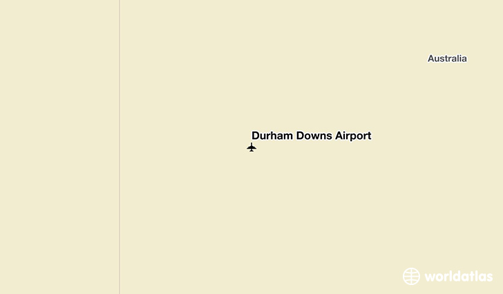 Durham Downs Airport location on a map