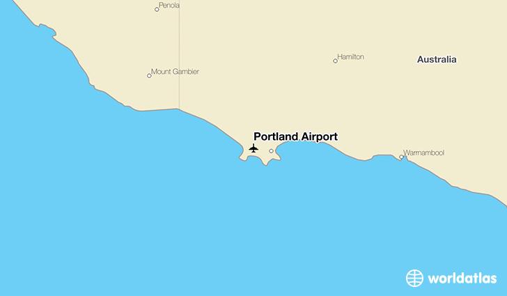 Portland Airport PTJ  WorldAtlas