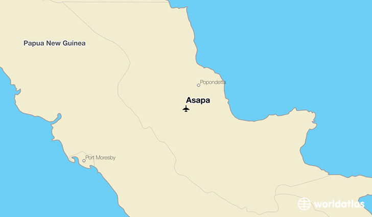 Asapa location on a map