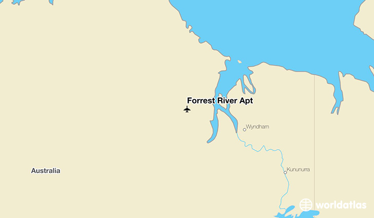 Forrest River Apt location on a map