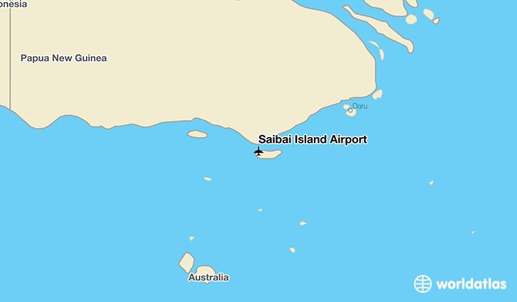 Saibai Island: Saibai Island Airport (SBR)