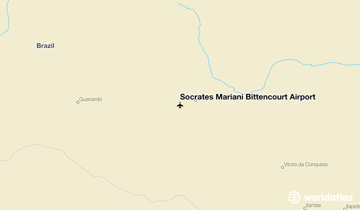 Sócrates Mariani Bittencourt Airport location on a map