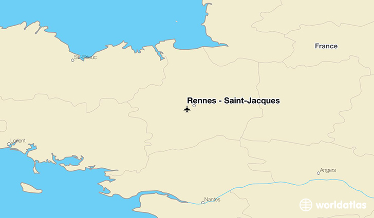Rennes - Saint-Jacques location on a map