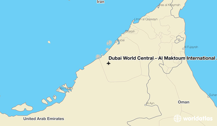 Dwc Airport Map Dubai World Central   Al Maktoum International Airport (DWC
