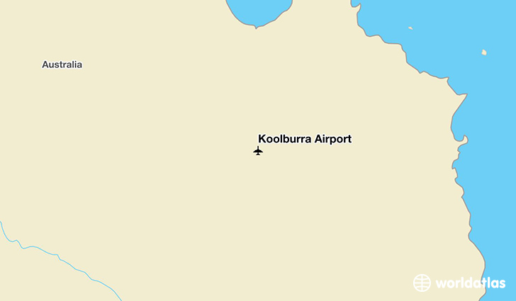 Koolburra Airport location on a map