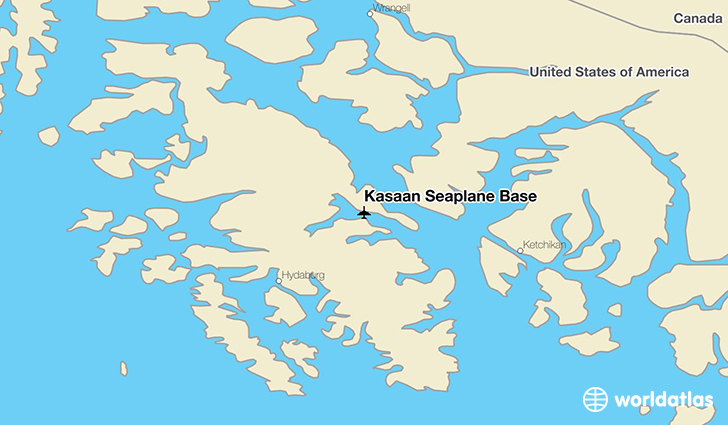 Kasaan Seaplane Base location on a map