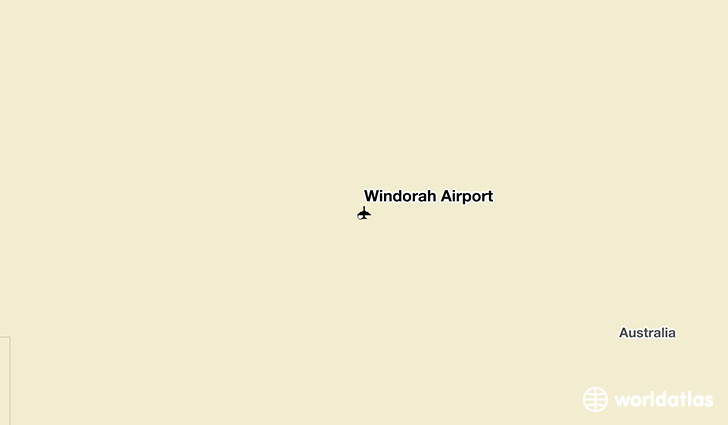 Windorah Airport location on a map
