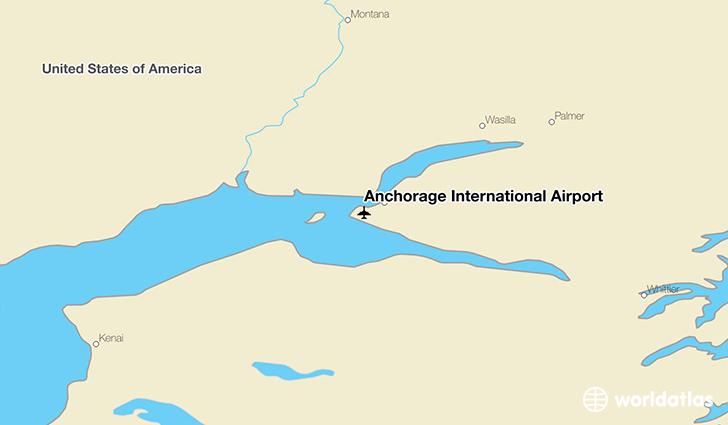 Anchorage International Airport ANC  WorldAtlas