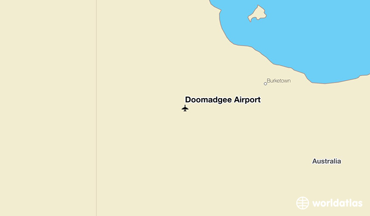 Doomadgee Airport location on a map
