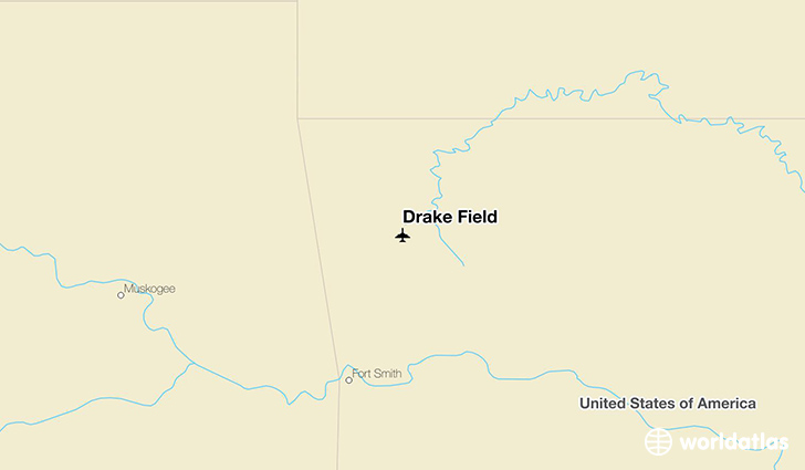 Drake Field location on a map