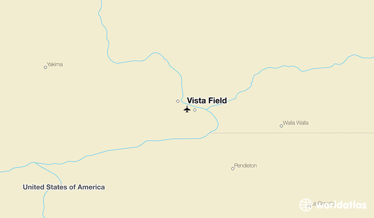 Vista Field location on a map