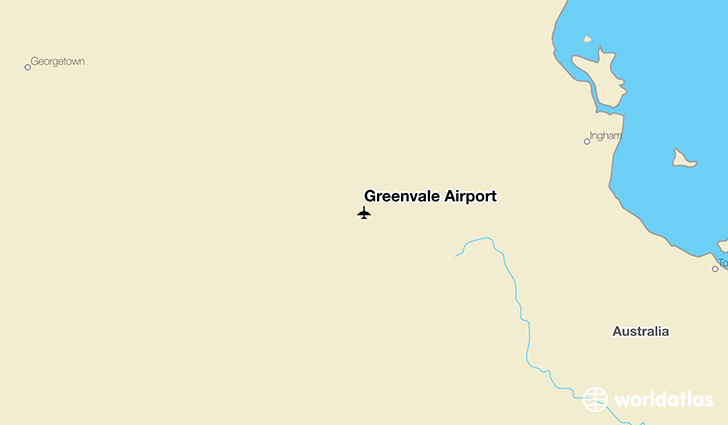 Greenvale Airport location on a map