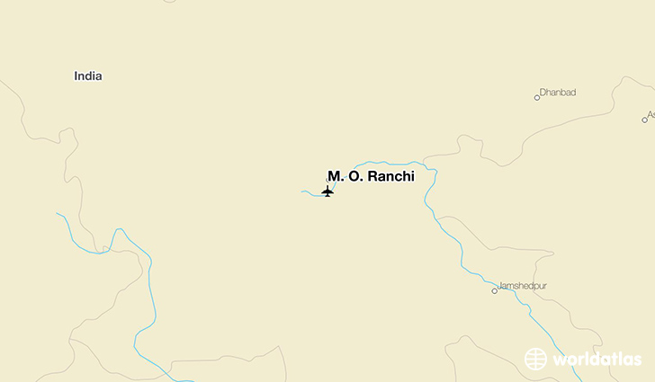 M. O. Ranchi location on a map