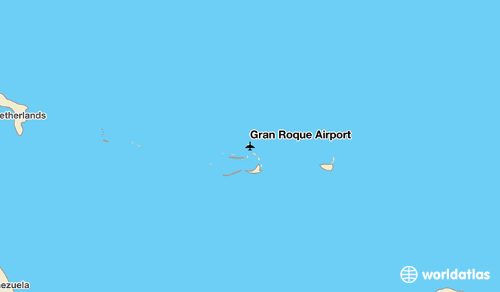 Gran Roque Airport location on a map
