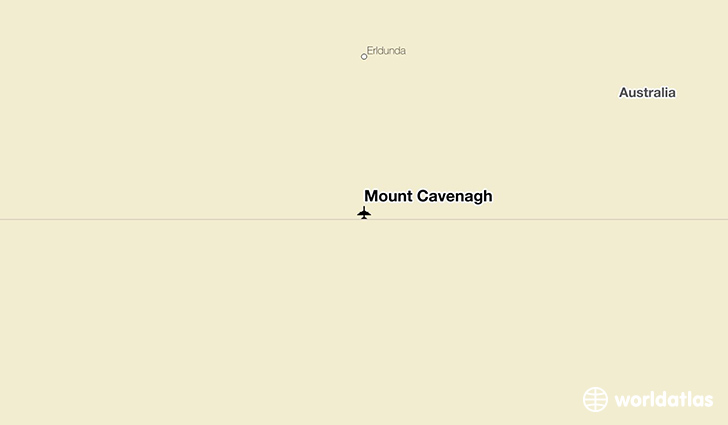 Mount Cavenagh location on a map