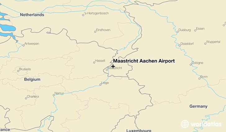 Maastricht Aachen Airport MST WorldAtlas