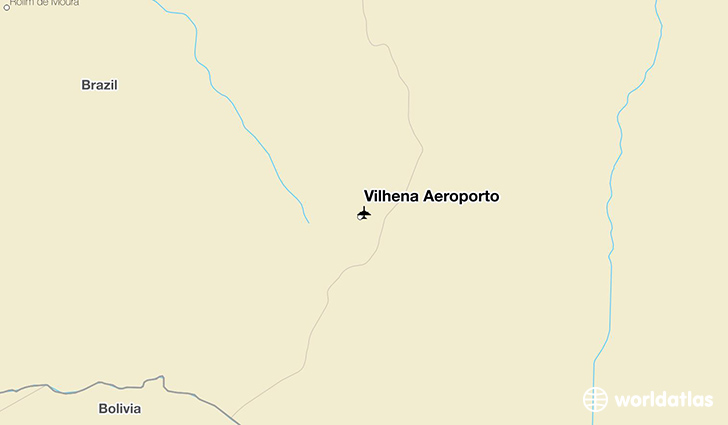 Vilhena Aeroporto location on a map