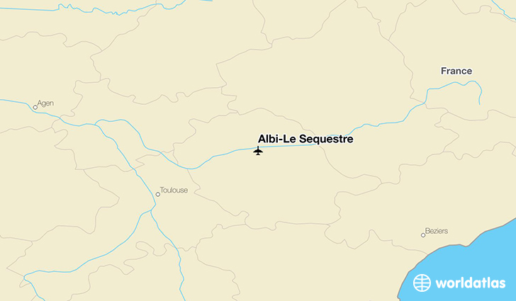 Albi-Le Sequestre location on a map