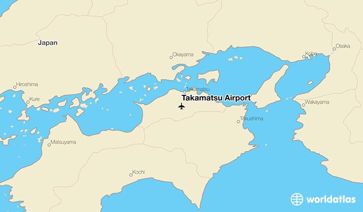 Takamatsu Airport TAK WorldAtlas