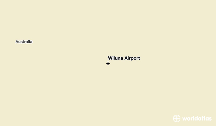 Wiluna Airport location on a map