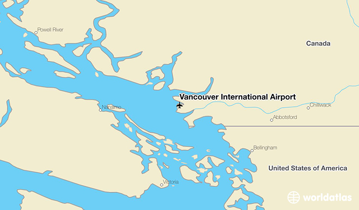 Vancouver International Airport YVR WorldAtlas