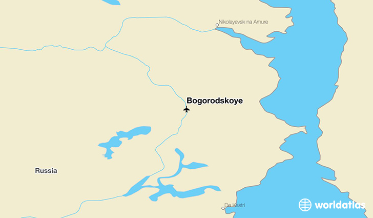 Bogorodskoye location on a map