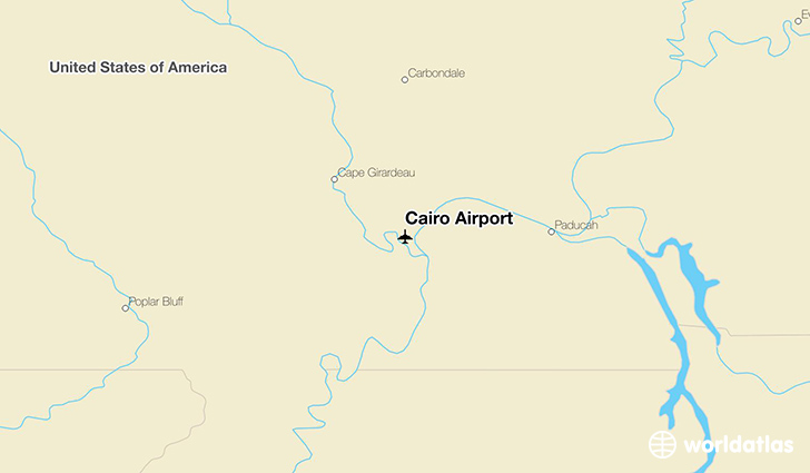 Cairo Airport location on a map