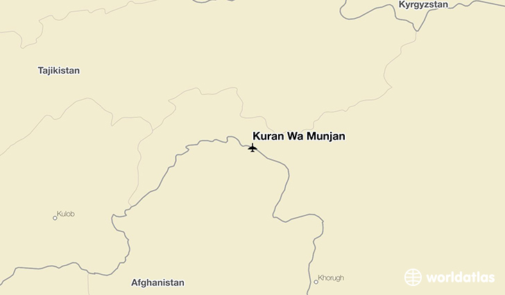 Kuran Wa Munjan location on a map