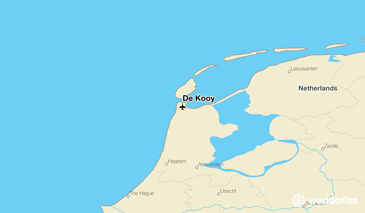 De Kooy location on a map