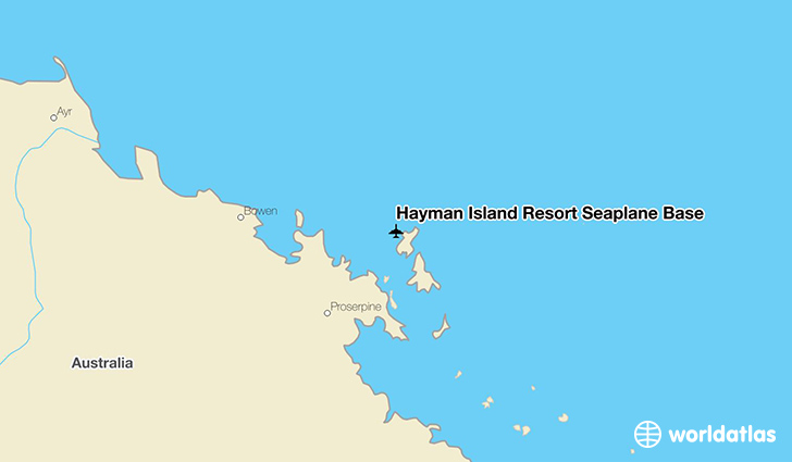 Hayman Island Resort Seaplane Base location on a map