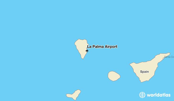 La Palma Airport SPC WorldAtlas