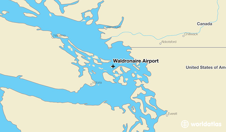 Waldronaire Airport location on a map