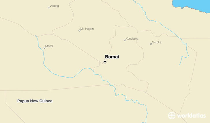 Bomai location on a map