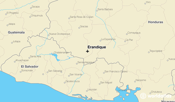 Erandique location on a map