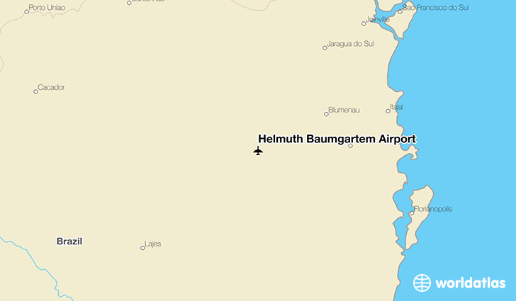 Helmuth Baumgartem Airport location on a map