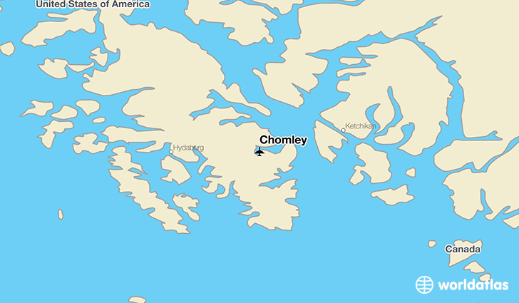 Chomley location on a map