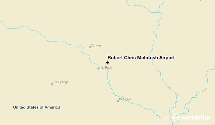 Robert Chris McIntosh Airport location on a map