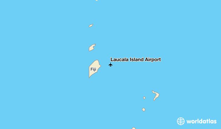 Laucala Island Map