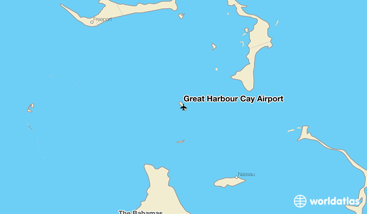 Great Harbour Cay Airport location on a map