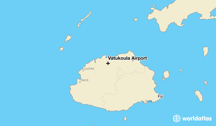 Vatukoula Airport location on a map