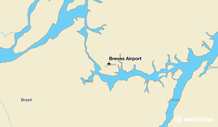 Breves Airport location on a map