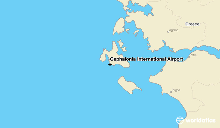 Cephalonia international airport efl worldatlas cephalonia international airport location on a map gumiabroncs Image collections