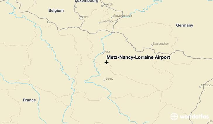 MetzNancyLorraine Airport ETZ WorldAtlas
