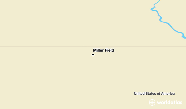 Miller Field location on a map