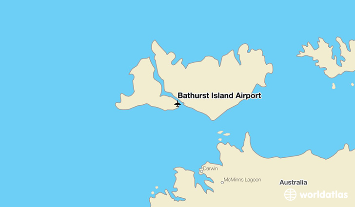 Bathurst Island Airport location on a map