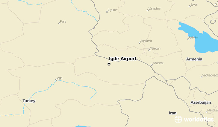 Idr airport igd worldatlas idr airport location on a map publicscrutiny Gallery