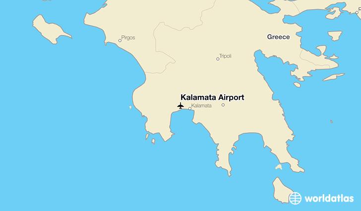 Kalamata Airport KLX WorldAtlas