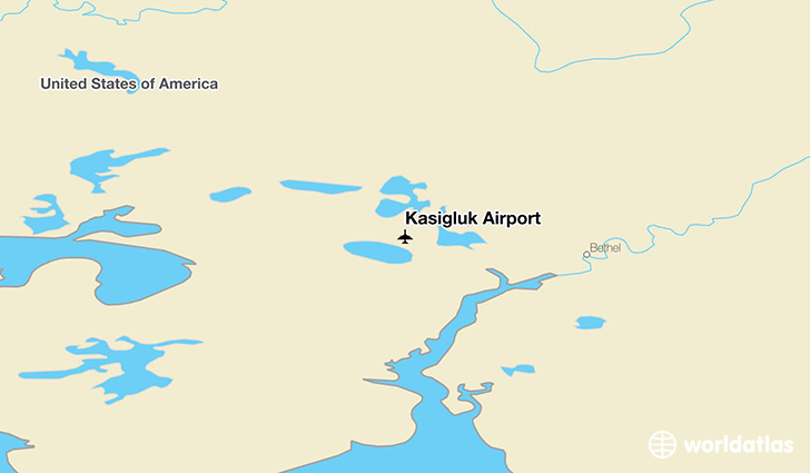 Kasigluk Airport location on a map