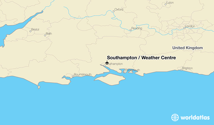 Southampton / Weather Centre location on a map